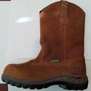 John Deere Women Waterproof Wellington Boot size 5
